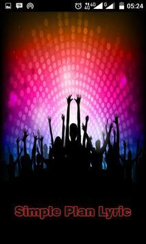 Simple Plan Song Lyric poster