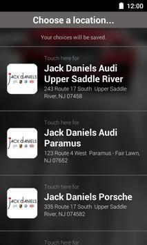 Jack Daniels Motors DealerApp poster