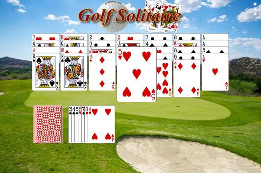 Golf Solitaire - Free poster