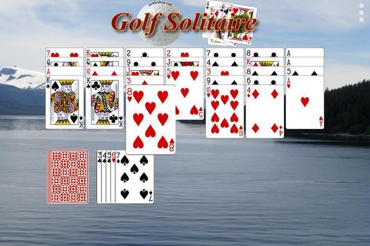 Golf Solitaire - Free screenshot 1