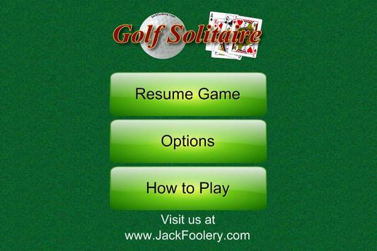 Golf Solitaire - Free screenshot 2