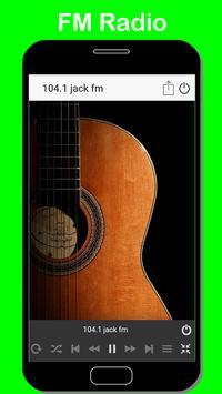 104.1 jack fm streaming radio recorder 104.1 fm screenshot 1