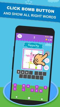 Guess The Peppa - Quiz Peppa and Pig apk screenshot