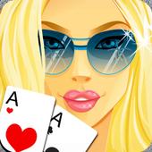 Hot Girls Poker, Free Offline icon
