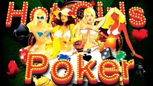 Hot Girls Poker, Free Offline poster