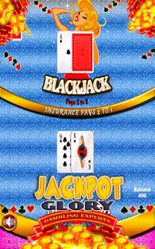Marylin Offline Free Blackjack poster