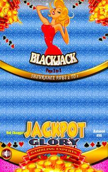 Marylin Offline Free Blackjack apk screenshot