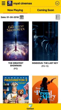 Royal Cinemas apk screenshot