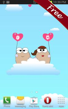 Cute Lover Eggs Live Wallpaper apk screenshot