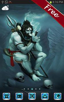 God Shiva Go Launcher Theme poster