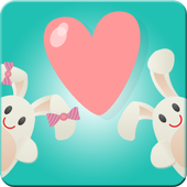 Cute Lovers Live Wallpaper icon