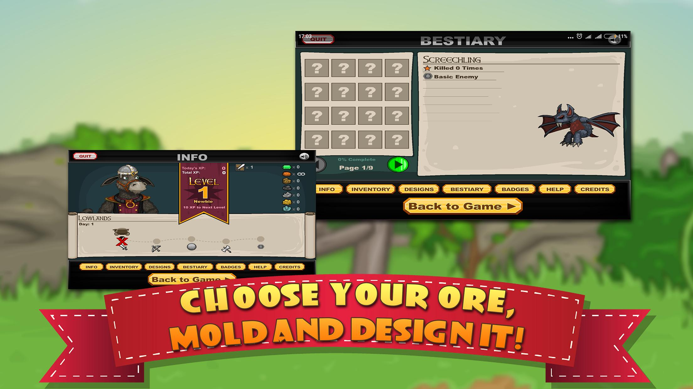 Jacksmith - Cool math crafting game y10 pour Android - Téléchargez