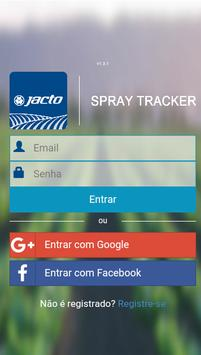 Jacto Spray Tracker poster