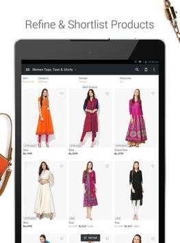 JABONG ONLINE SHOPPING APP apk screenshot