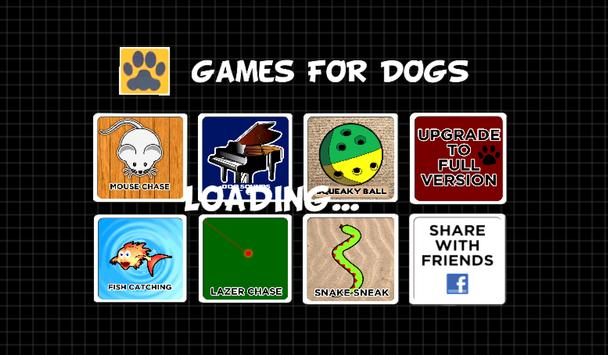 GAMES FOR DOGS poster