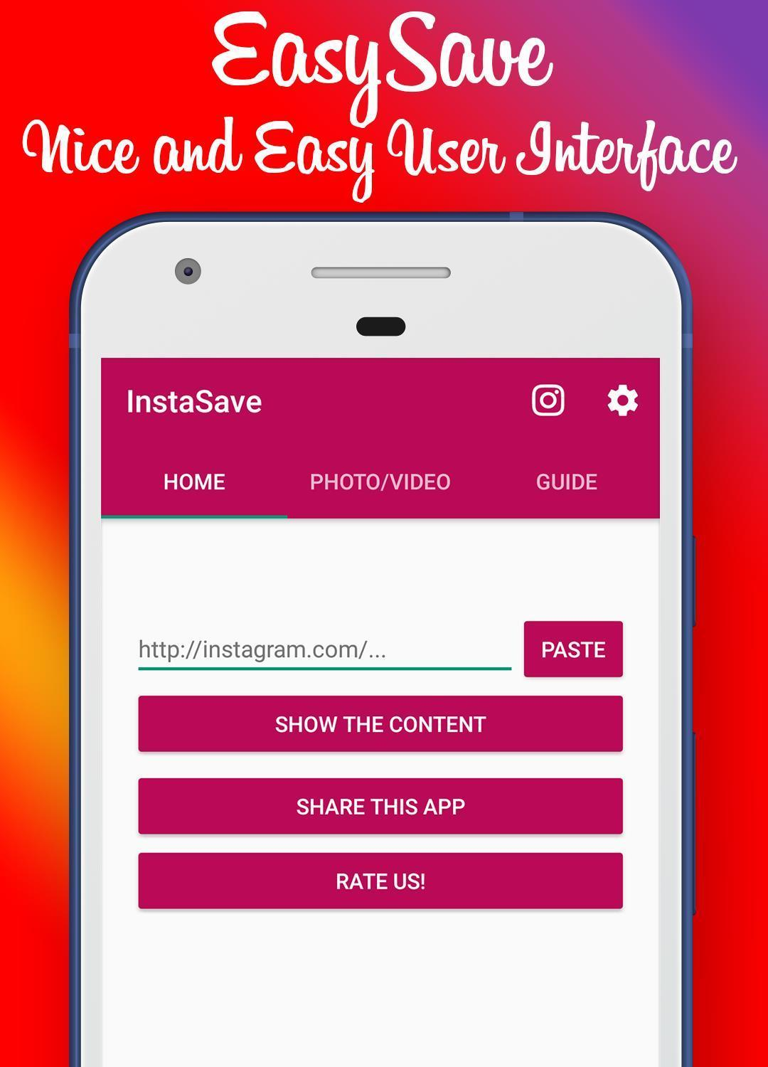 Photo and Video Saver Pro for Instagram for Android - APK Download