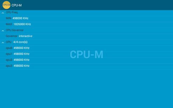 CPU-M screenshot 3