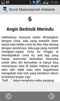 Novel Maassalamah Adelaide apk screenshot