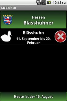 Jagdzeiten.de Testversion apk screenshot