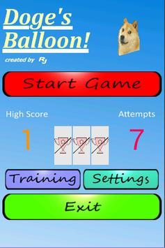 Doge's Balloon apk screenshot