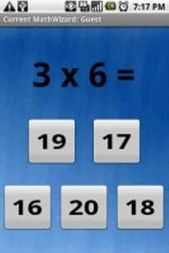 Math Wizard Lite apk screenshot