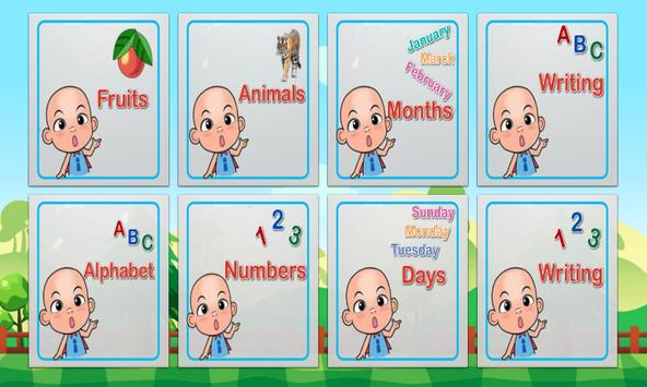 Kids Learning ABC (Chalk Up) poster