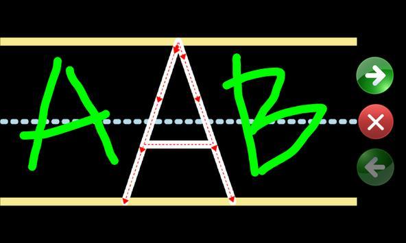 Kids Learning ABC (Chalk Up) screenshot 2