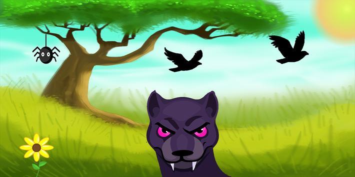 adventure jaguar jungle poster
