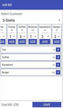 Bill Manager apk screenshot