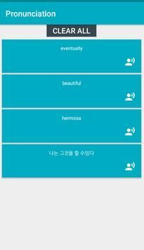 Pronunciation screenshot 6