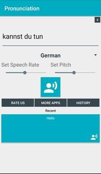 Pronunciation screenshot 1