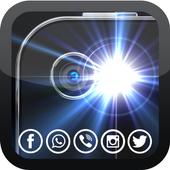flash alerts notifaction icon