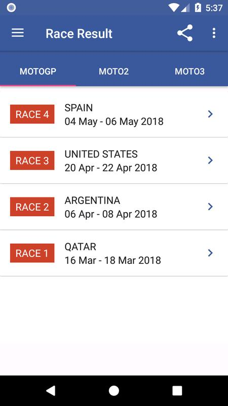 2018 MotoGP Calendar Result APK Download - Free Sports APP for Android | APKPure.com