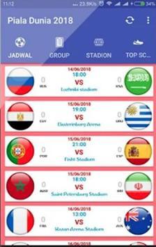 Jadwal Piala Dunia Russia 2018 Online poster