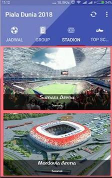 Jadwal Piala Dunia Russia 2018 Online screenshot 1