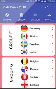Jadwal Piala Dunia Russia 2018 Online screenshot 2