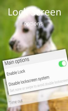 Cute Little Puppies Lock Screen screenshot 4