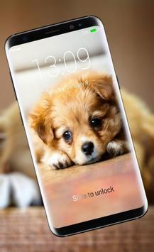 Cute Little Puppies Lock Screen screenshot 1