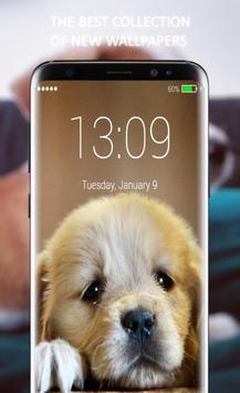 Cute Little Puppies Lock Screen screenshot 3