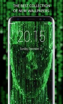 Matrix Lock Screen screenshot 3