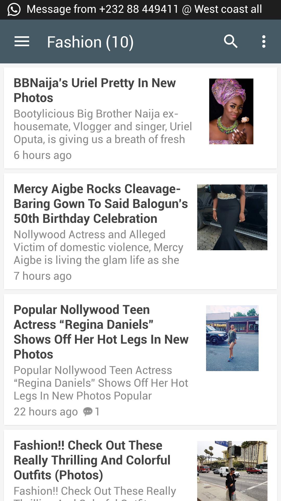 9jaflaver News App for Android - APK Download