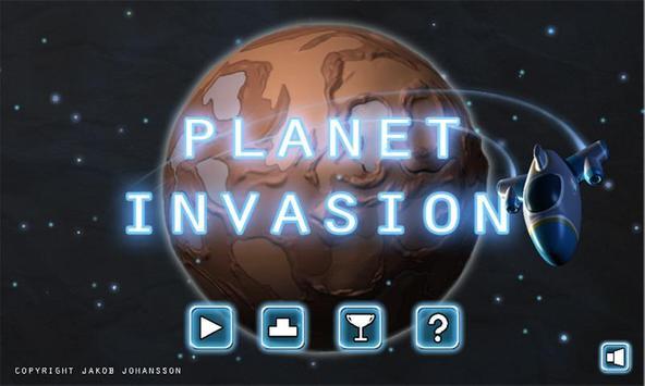 Planet invasion free poster