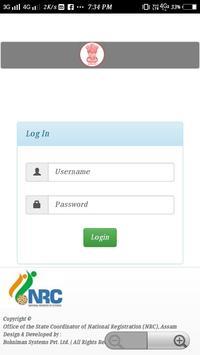 NRC Status check Assam screenshot 3