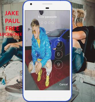 LockScreen For Jake Paul poster