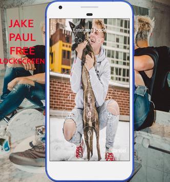 LockScreen For Jake Paul screenshot 1