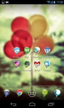 Balloon One - Icon Pack screenshot 1