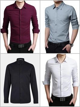 Men Simple Shirt Suit Fashion screenshot 1