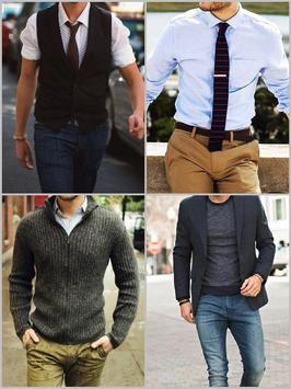 Men Simple Shirt Suit Fashion screenshot 3