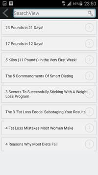 Lose Weight Fast  In 3 Weeks poster