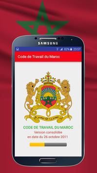 Code de Travail du Maroc poster